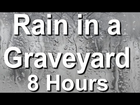 Rain On A Window Sound - 8 Hour Long Relaxation Sound
