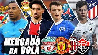 Villa no radar do Benfica, Real Madrid quer Marquinhos e Hysaj, PSG mira Ben White, Milan, United E+
