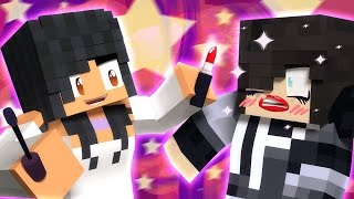 Zane With Lipstick! | Do Each Other's Make-Up In Minecraft! Video