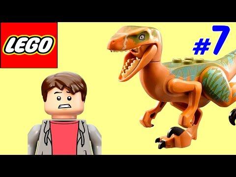 🐈 ЛЕГО мультик ИГРА про динозавров Парк юрского периода [7]