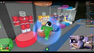 CAIDEN PLAYS ROBLOX ,MAD CITY WITH THE FLASH