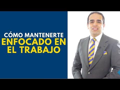 Cómo mantenerte enfocado en el trabajo | Curso de ventas con Carlos Flores