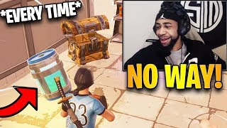 Daequan Reacts To How To Get Chug Jug EVERY TIME From Chests! | Fortnite Highlights