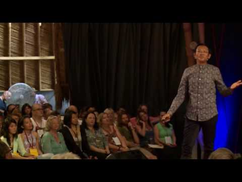 A bicycling journey to find the first tourist in Bali | Marlowe Bandem | TEDxUbud