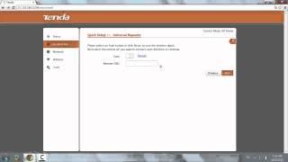 Configurare access point Tenda come repeater