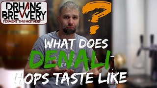 What does Denali hops taste like?