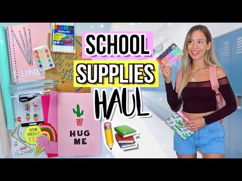 BACK TO SCHOOL SUPPLIES HAUL & DIY ✏️ Back To School Deutsch 2019 - Cali Kessy