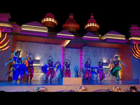 Rajitha classical dance performance in Dubai Global Village 2018