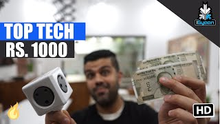 top 10 budget tech and accessories under rs 1000 september 2017