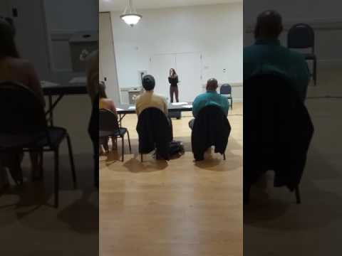 Miss B audition for (Largo teen idol) uncut. 3/14/17