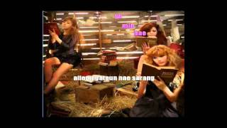 Orange Caramel - A~ing (Instrumental/Karaoke with on-screen romanized lyrics)