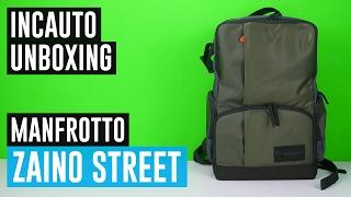 IL MIGLIOR ZAINO FOTOGRAFICO SOTTO I 100€? Zaino Manfrotto Street #IncautoUnboxing