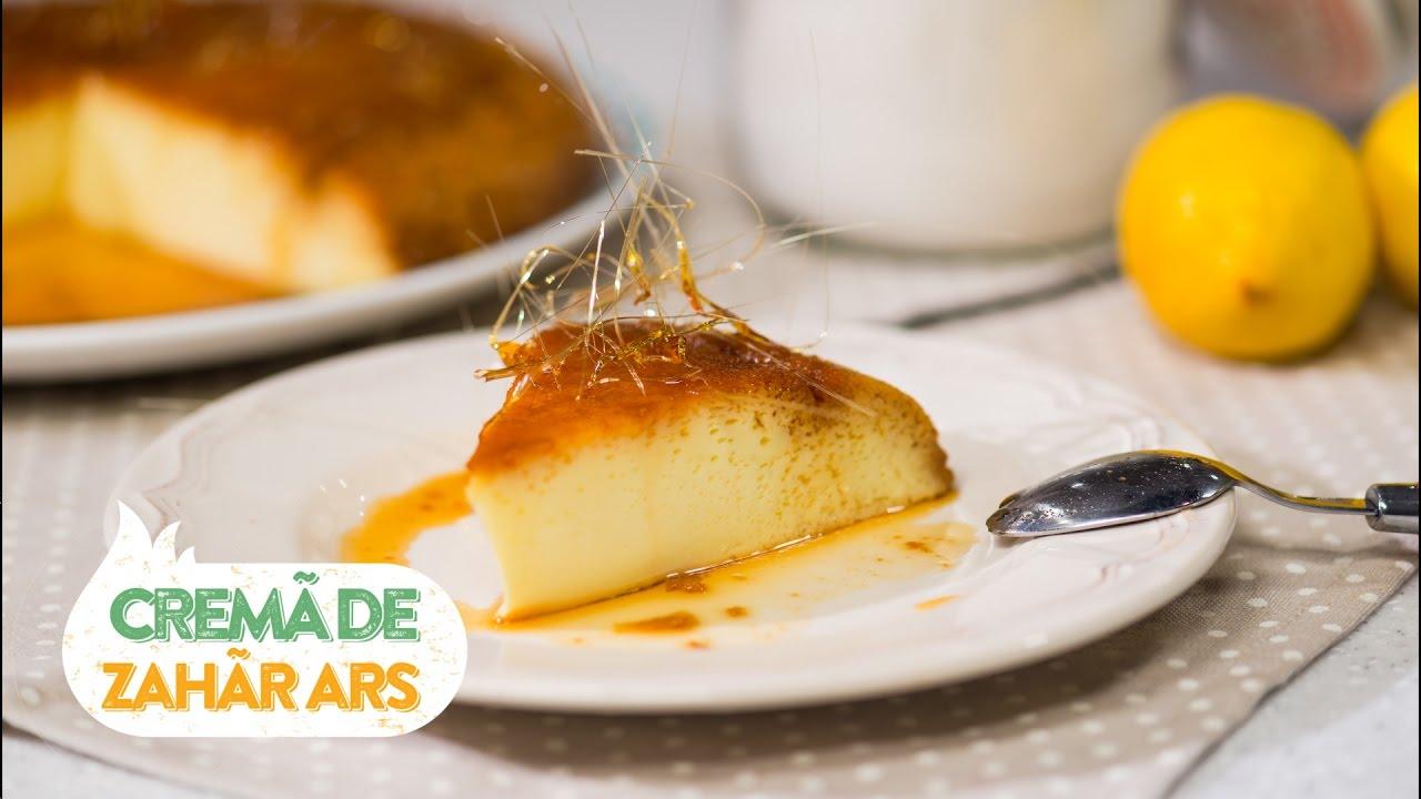 Reteta - Crema de zahar ars | Bucataras TV