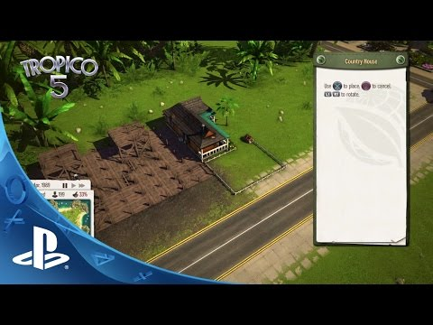 Tropico 5 – Features Trailer | PS4