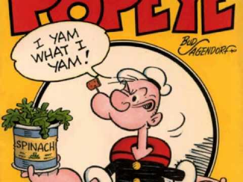 Popeye The Sailor Man Theme Song Youtube