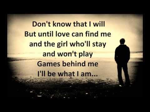 Solitary Man Johnny Cash Lyrics Hd Youtube