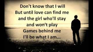 Solitary Man - Johnny Cash - Lyrics HD