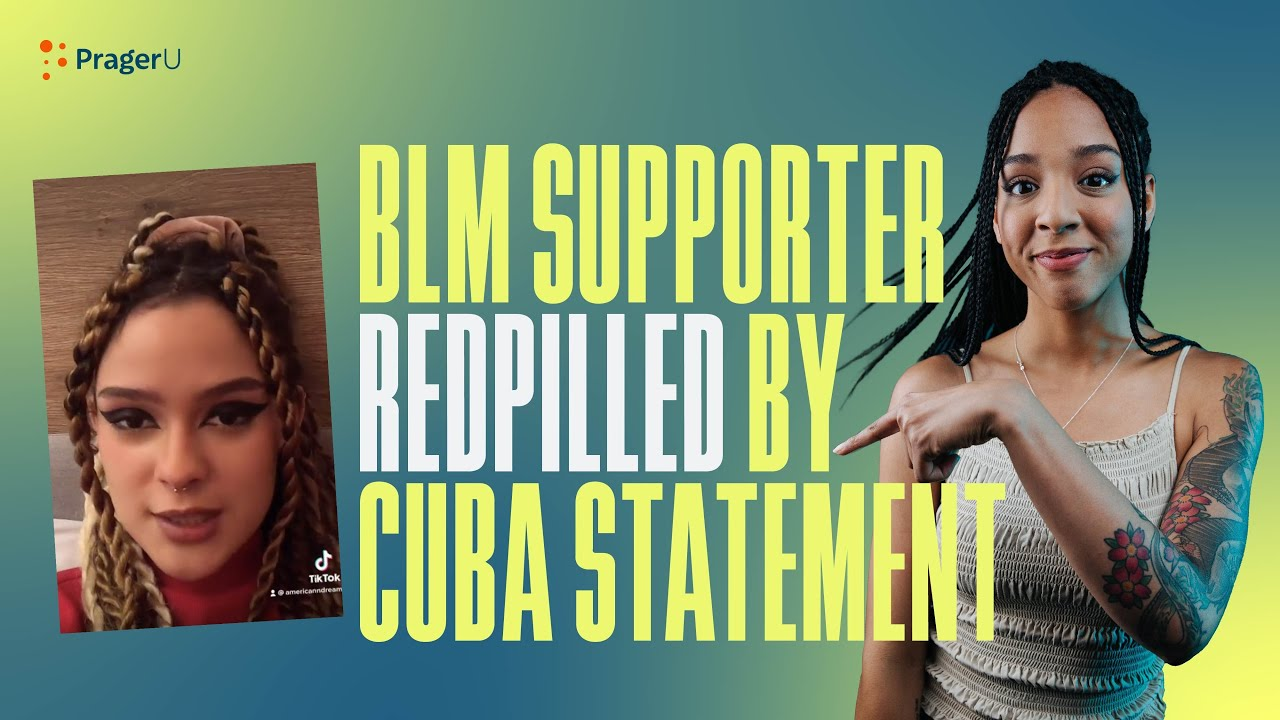 BLM Supporter REDPILLED By Cuba Statement - Will & Amala LIVE