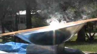 PARABOLIC DISH MIRROR REFLECTOR SPHERICAL SUN PARABOLIC SOLAR COOKER REFLECTIVE ALUMINUM