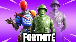 Fortnite-Skins and cosmetic items leaked