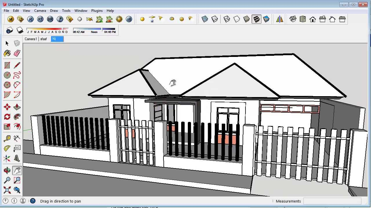 Open autocad dwg in sketchup youtube Opensource cad dwg