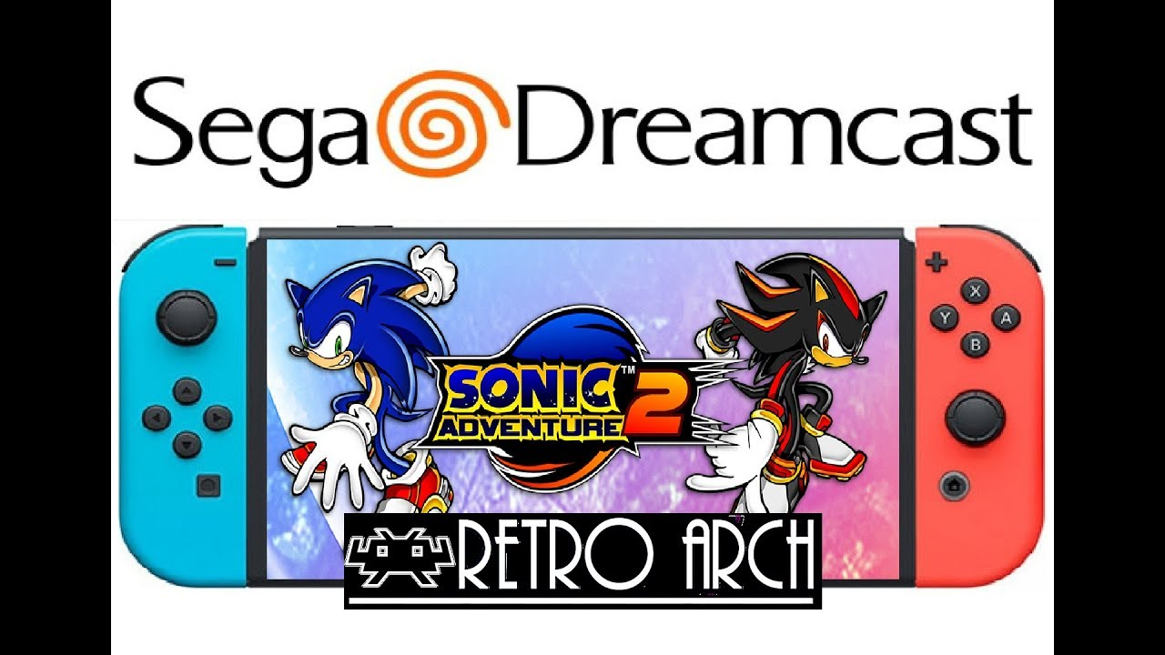 Sega Dreamcast emulation test on Switch running Lakka/Retroarch 5 0 2 &  3 0 0