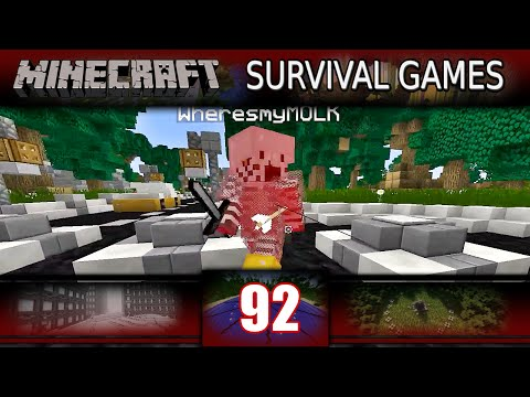 Minecraft - Survival Games - CLUTCH TEAM OF 2! (Minecraft PVP)