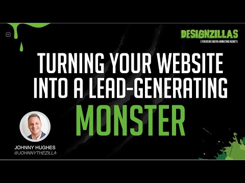 Webinar: How to turn your website into a lead-generating monster