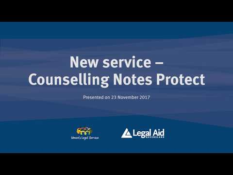New service — Counselling Notes Protect