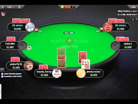 Let's Play Online Poker #6 Sit&Go Echtgeld 3,5$ buy-in Pokerstars
