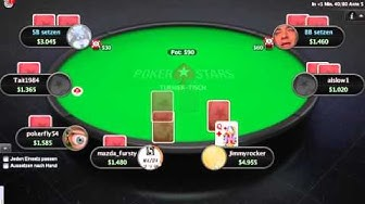 Let's Play Online Poker #6 Sit&Go Echtgeld 3,5$ buy-in Pokerstars