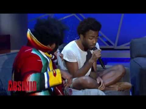 Childish Gambino - Shadows (Arsenio Hall Show)