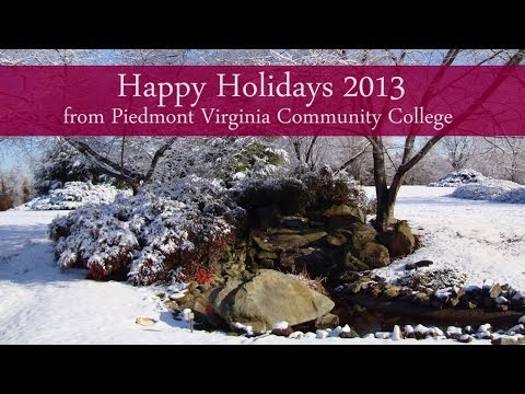 Happy Holidays 2013 from Piedmont Virginia Community College