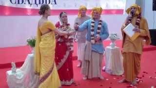 Презентация ведической свадьбы на празднике