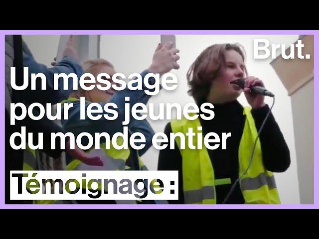 Youth for Climate : le message d'Anuna De Wever aux jeunes du monde entier