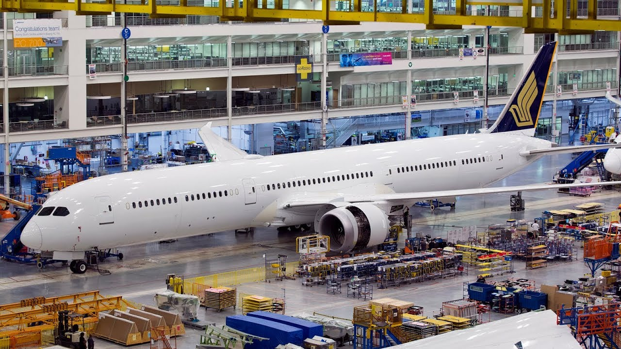Inside The Factory: How a Boeing is Built