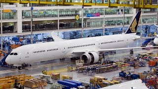 How a Boeing 787 Dreamliner is Built