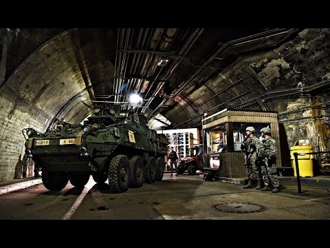 Cheyenne Mountain Complex - US Military Base deep under the Rocky Mountains.-Navy