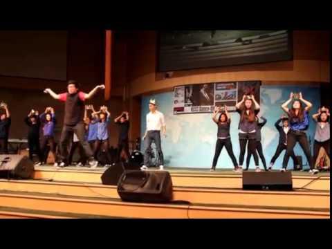 Riverside Dance-Off Gethsemane 2012 - Angle 1