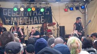 The Varukers - Protest & Survive + Led To The Slaughter (Berlin MyFest 01.05.2014) [HD]