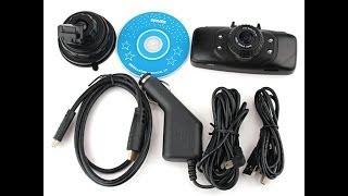 Обзор и тест видеорегистратора GS9000 c GPS смотреть