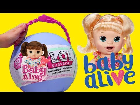 Baby Alive Yay ! Toys and Dolls Fun for Kids with Toy Babies Emma and Kate and Snackin' Sara