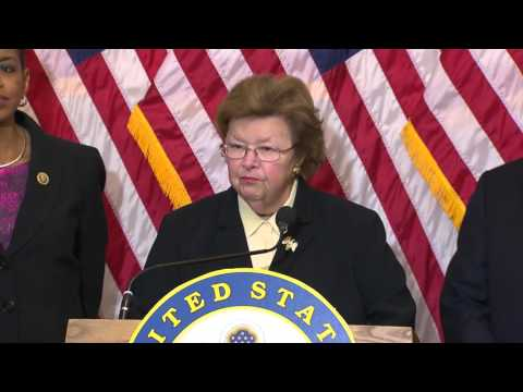 Mikulski Announces She Has Secured $390 Million for Fully Consolidated FBI Headquarters