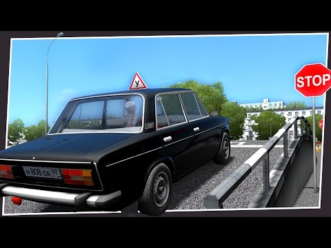 CAN THIS GAME TEACH YOU TO DRIVE? (City Car Driving)