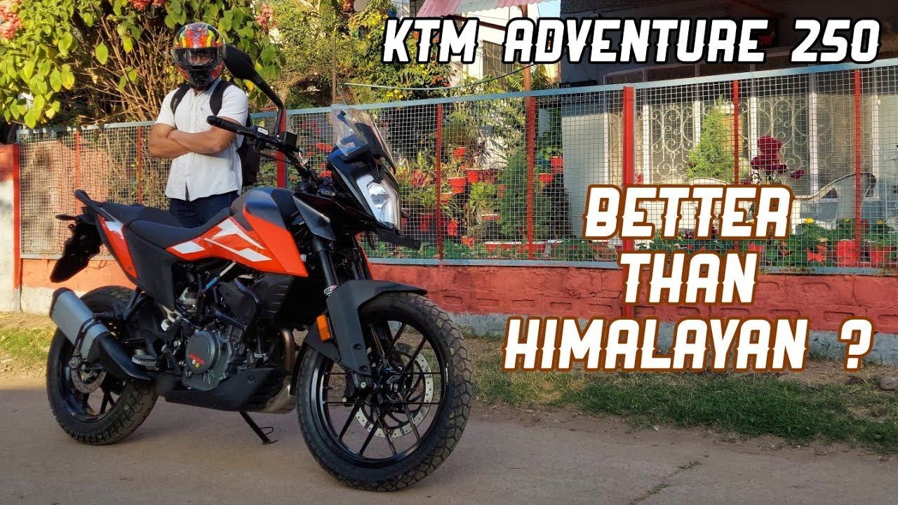 KTM Adventure 250 Review - Better Than Royal Enfield Himalayan ?