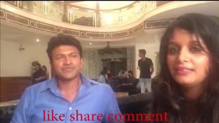 Rapid fire round with Puneeth Rajkumar