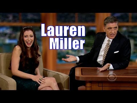Lauren Miller - Has An Attractive Voice - Her Only Appearance