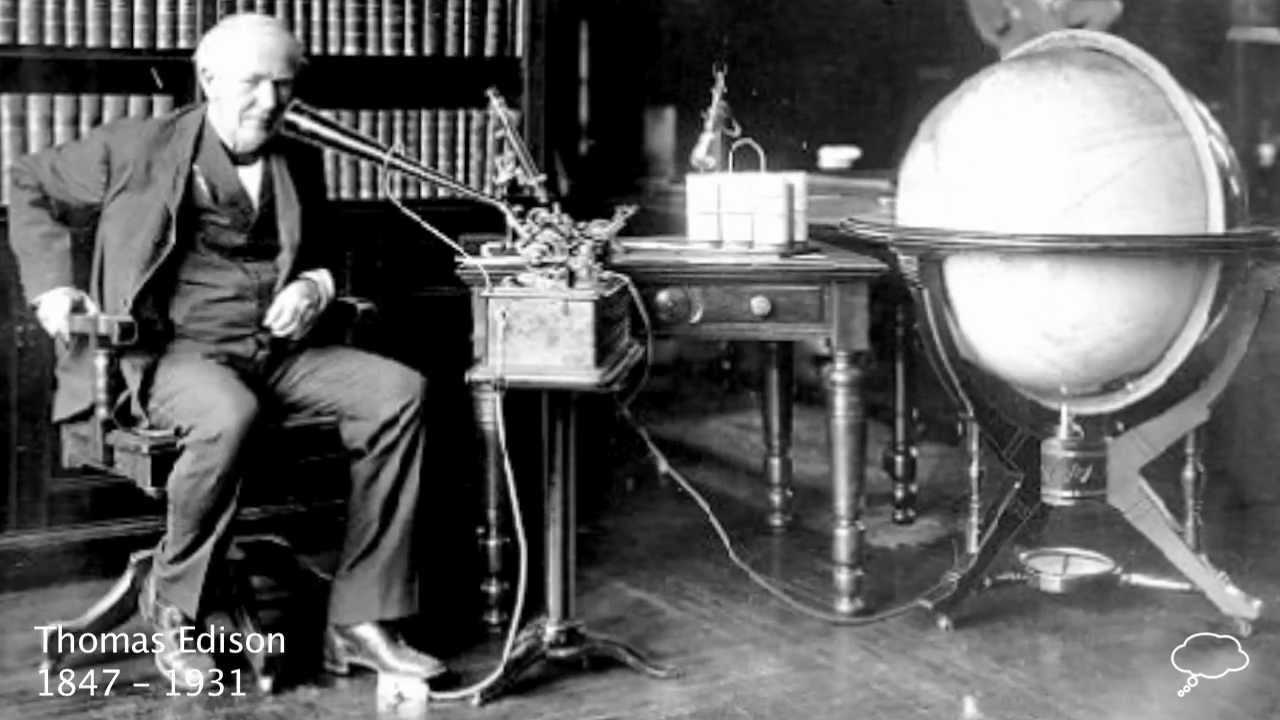 Thomas Edison Biography Youtube
