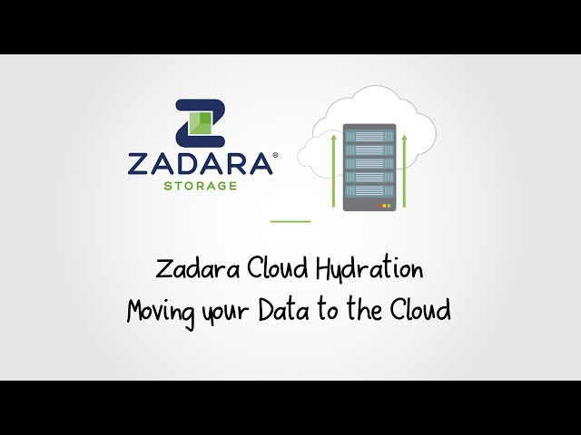 How do I move my data to the cloud? — Zadara Cloud Migration