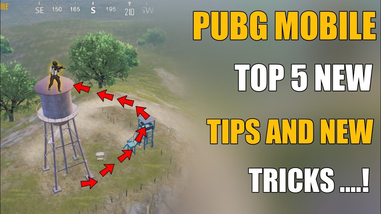 TOP 5 NEW TIPS AND TRICKS PUBG MOBILE || PUBG MOBILE LATEST NEW TRICKS
